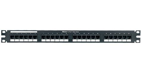 Panduit Dp5e Dp6 Plus Patch Panels Cableorganizer Com Visio Patch Panel Template