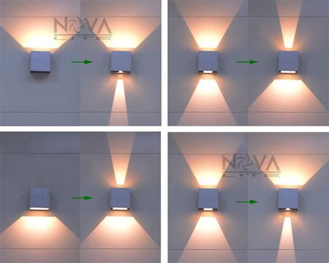outdoor double wall light cree outdoor wall light led up down wall sconces