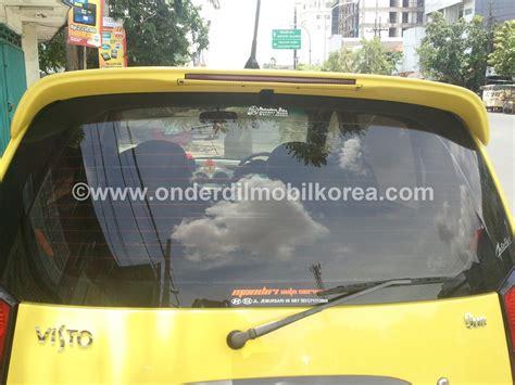 Spoiler Kia Visto spoiler kia visto onderdil mobil korea