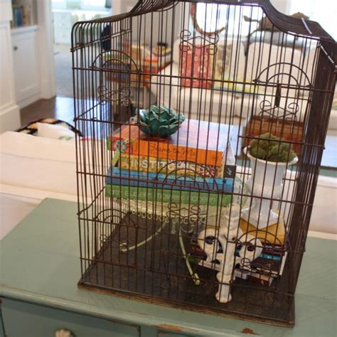 how to decorate a birdcage home decor decorating with a birdcage the pleated poppy