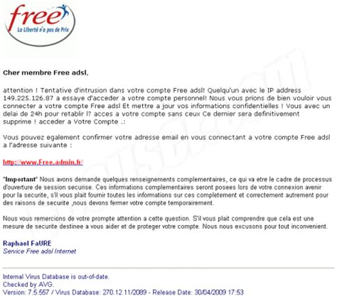 Lettre De Résiliation Mobile Bouygues Telecom Secuser Phishing Free