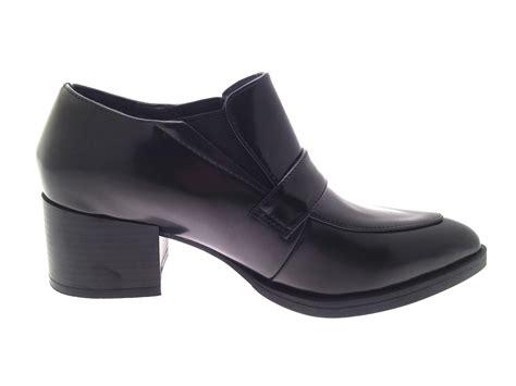 platform loafers uk womens platform loafers block heel brogue shoes pointed
