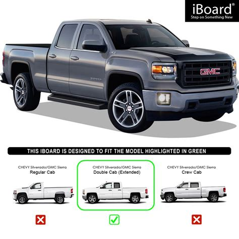 aps iboard black running boards style custom fit