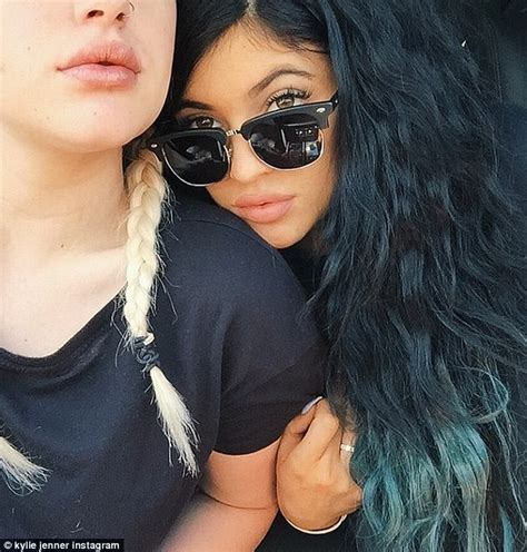bellami hair extensions for black women kylie jenner follows her older sisters footsteps by