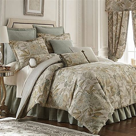 rose tree comforters buy tree antibes king comforter set in blue from bed bath beyond
