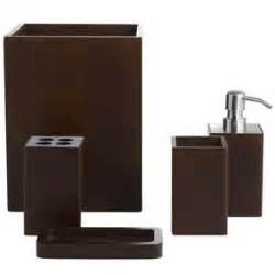 brown bathroom accessories tsc
