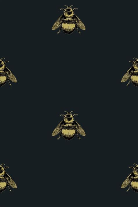 wallpaper with gold bees timorous beasties wallcoverings napoleon bee