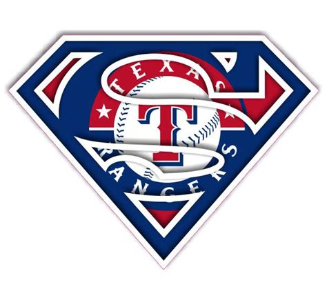 Hockey Wall Stickers texas rangers superman logo decals stickers cad 1 50