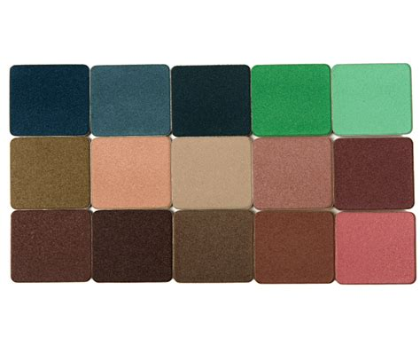 Make Up City Colour up make up for artist color shadows swatches