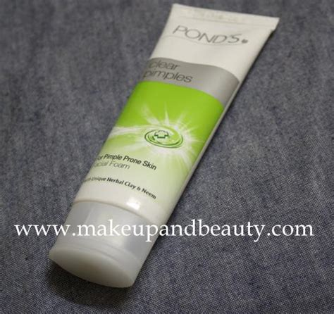 Ponds Detox For Acne Marks Review by Pond S Clear Pimples Foam Review