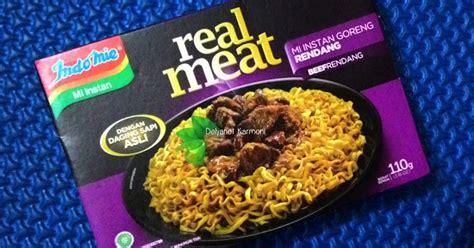 review indomie real meat rasa rendang review jujur
