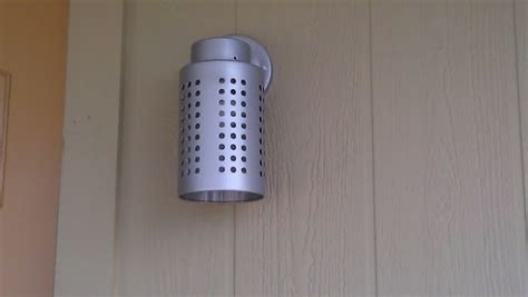 ikea utensil holder utensil holder becomes exterior light ikea hackers