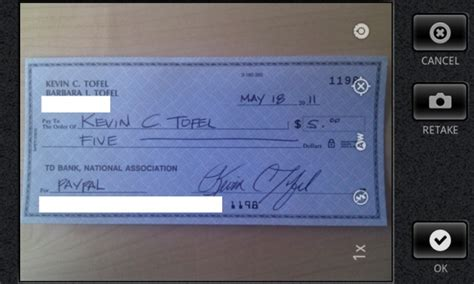 Paypal Background Check Paypal App Update Brings Check Scanning Android Authority