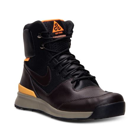 nike s boots lyst nike mens air stasis boots from finish line in