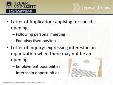 cover letter inquiry about employment possibilities cover