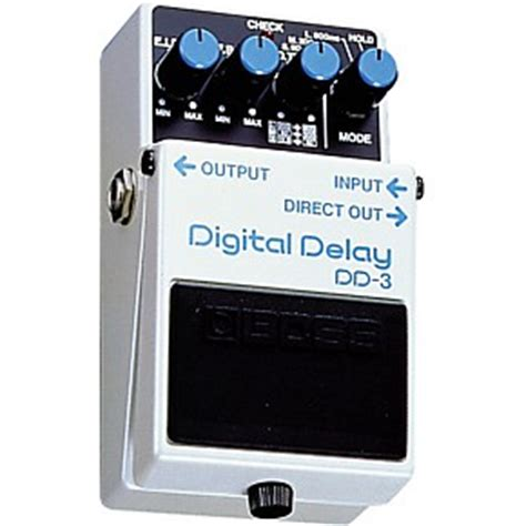 Boss Dd 3 Digital Delay Pedal Musicians Friend | boss dd 3 digital delay pedal musician s friend