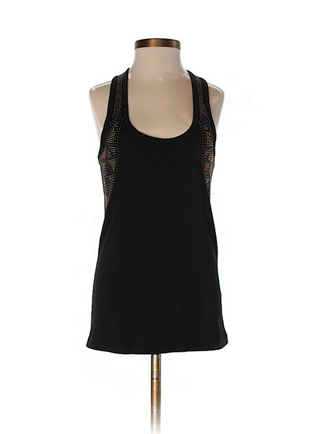 Torn Back Tank All Size torn by ronny kobo solid black tank top size xs 97 thredup