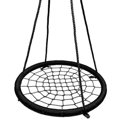 large round swing 40 quot large round tree swing net black ns 100 blkblk