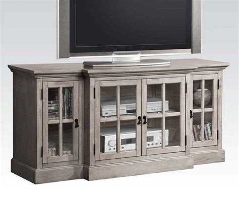 gray tv table acme furniture julian gray tv stand the home