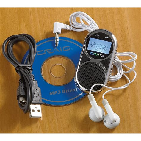 craig mp3 craig 174 2gb mp3 player with speaker 180737 at sportsman