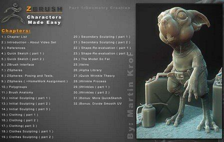 zbrush tutorials characters made easy zbrush tutorials characters made easy part 1 geometry