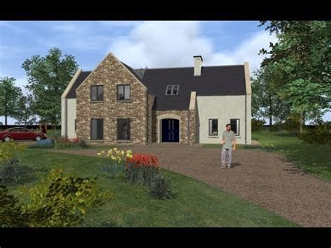 irish house design irish house plans house type dorm125 exterior youtube