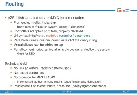 ez publish url alias name pattern symfony http kernel for refactoring legacy apps the ez