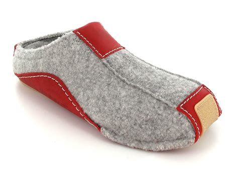 german wool slippers haflinger 174 pocahontas gray the moccasin of boiled