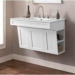 fairmont designs shaker americana 36 quot wall mount vanity