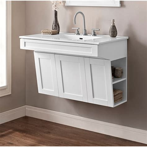 Shaker Bathroom Vanity Fairmont Designs 1512 Vh24 Shaker Americana 24 Inch Open Fairmont Designs 24 Lifestyle