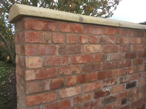 Reclaimed Wirecut Brick Garden Wall Garden Brick Walls