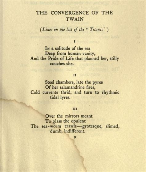 Titanic First Class Menu by The Convergence Of The Twain Thomas Hardy S Titanic