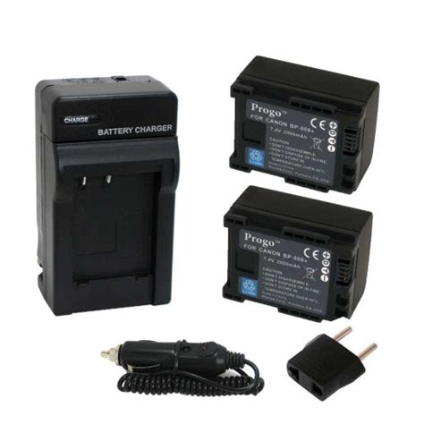 Pocket Canon S200 progo power pack two li ion rechargeable battery and