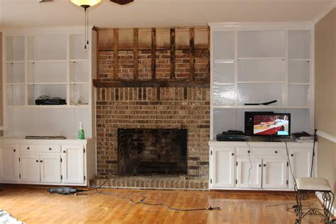 fireplace renovation sweet sorghum living