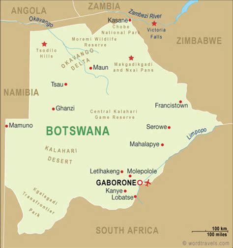 africa map botswana bidpa library july 2010