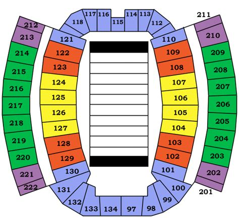 wvu seating chart mountaineer field mountaineer field seating chart