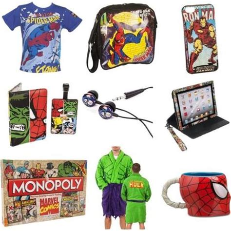 christmas gift ideas marvel lovers paperblog