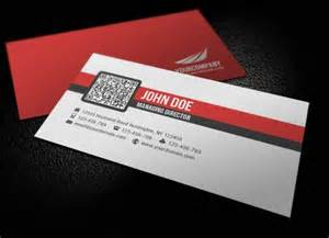 business card design simple inspirational showcase of qr code business card designs