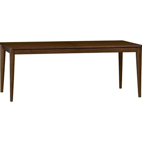 oslo extension dining table crate and barrel