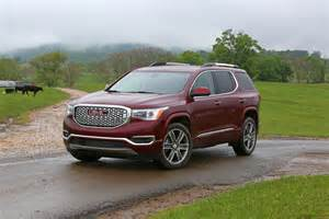 2017 gmc acadia denali features equipment gm authority