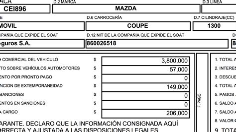 liquidacion del impuesto del carro liquidacion impuesto carros bogota impuesto veh 237 culos