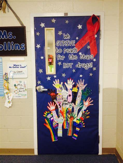 2013 2014 ribbon week door decoration classroom