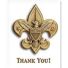boy scout thank you cards 20 pack cards gifts gift cards bsa