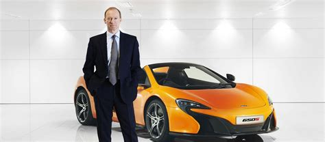 mclaren ceo mike flewitt ceo mclaren automotive