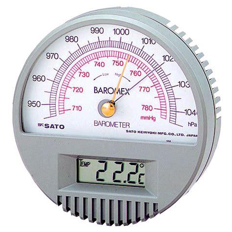 sksato barometer  digital thermometer