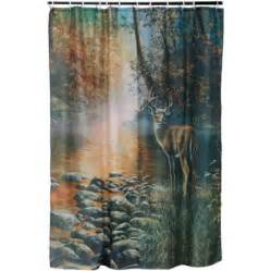 river s edge products deer shower curtain walmart