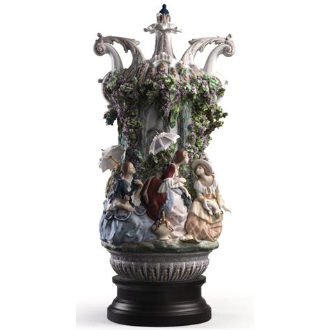 lladro from aranjuez vase 01001968