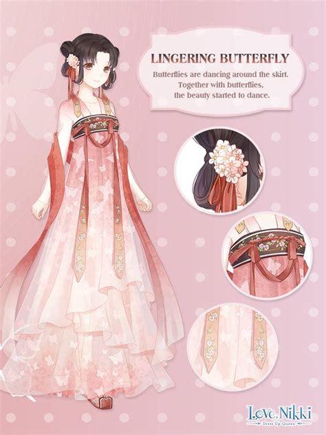 lingering butterfly love nikki dress  queen wiki fandom
