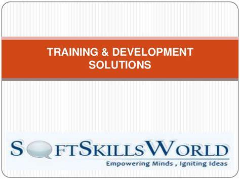 Soft Skills Brochure Template