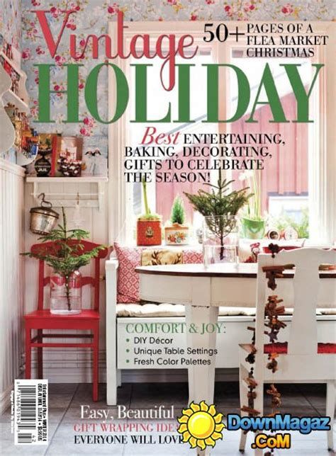 free home decor magazines mail flea market decor vintage holiday 2014 187 download pdf